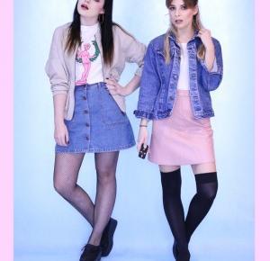 Jeansowo - spódniczkowa stylizacja :)