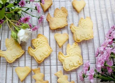 Kruche waniliowe ciasteczka | Słodkie okruszki