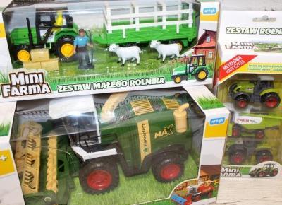 Zestaw zabawek Mini Farma | Słodkie okruszki