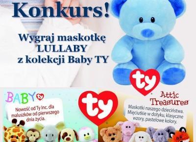 Konkurs! Wygraj maskotkę LULLABY z kolekcji Baby TY | Słodkie okruszki