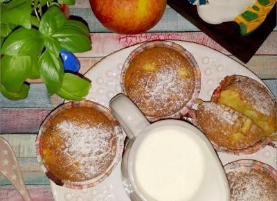 Waniliowe babeczki z jabłkami | Słodkie okruszki