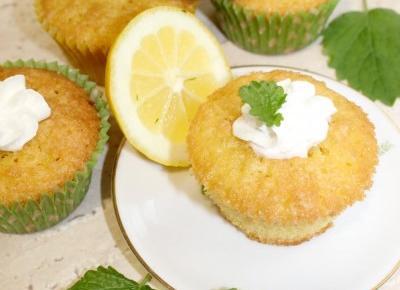 Cytrynowe babeczki | Słodkie okruszki