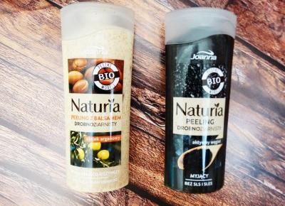 Naturia – seria naturalnych peelingów do ciała od Joanny | SmellLikeMe.pl| coś co lubisz