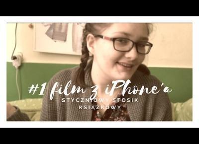 #1 film kręcony iPhone'm | styczniowy stosik książkowy