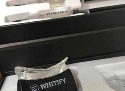 Whitify - wybielanie zębów w Twoim własnym domu, lepsze niż u dentysty!
