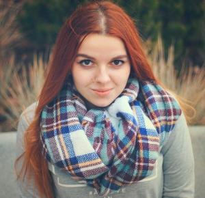 .: Checked Scarf