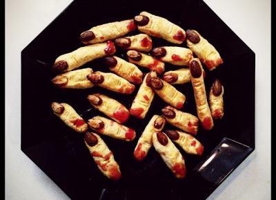 Przepis na paluchy czarownicy finger cookies na #HALLOWEEN