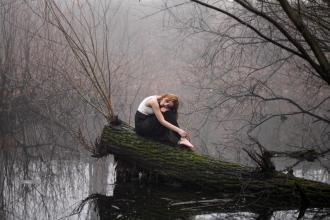 Magdalena Łuniewska Fotografia: Girl in fog