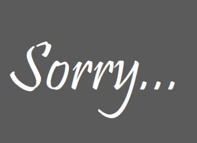 Zuzanana: Przepraszam...