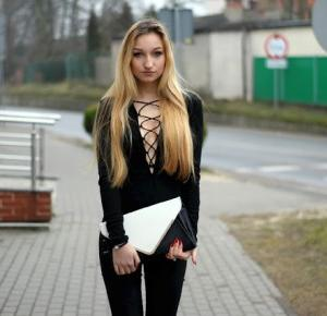 All black outfit!