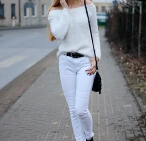 ` Sylwia Szumińska .: Total WHITE #OOTD
