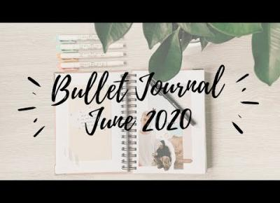 BULLET JOURNAL JUNE 2020