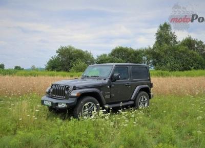 Test: Jeep Wrangler Sahara - piasku po dziurki w nosie | Moto Pod Prąd