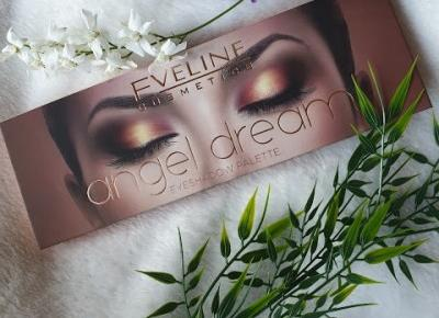 Eveline Angel Dream - paleta cieni - RECENZJA