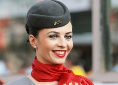 High Fashion: Etihad Airways Flight Attendant Uniforms