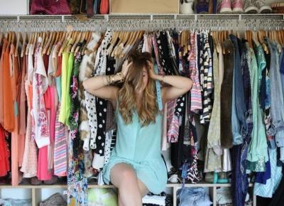 Organizacja garderoby - jak uporządkować szafę?