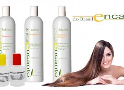 Zapomnij o prostowaniu włosów! Zestaw do keratynowego prostowania włosów