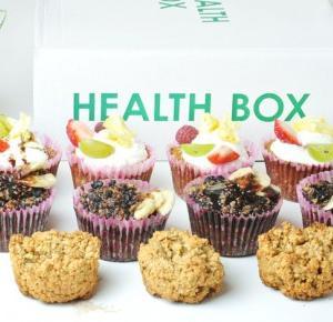 Stylowo i Zdrowo: Health box i 3 odsłony muffinek śniadaniowych