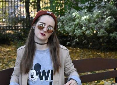 MODA ZA GROSZE - Autumn LOOK - Streetwear - sweetlittlebunny