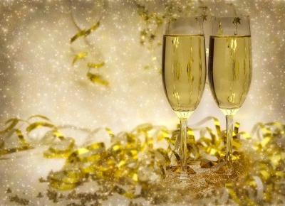 Dobry szampan na dobry Rok 2018 - Świat w kolorze blond