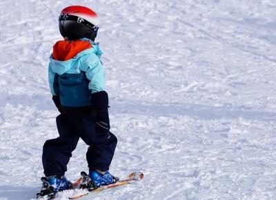 Aktywna zima - wybieramy narty dla dzieci - Świat w kolorze blond