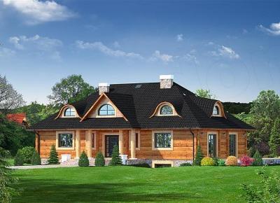 Domy z bali - pełnia natury - Świat w kolorze blond