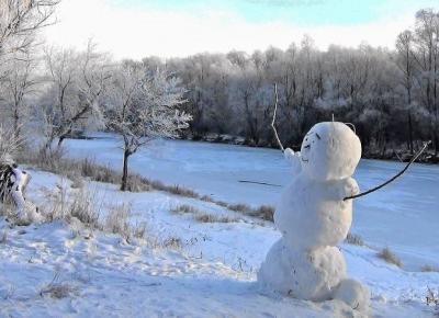 Śniegowy Pan - Bałwan - Świat w kolorze blond