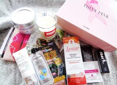 Box kosmetyczny THINK PINK - Świat w kolorze blond