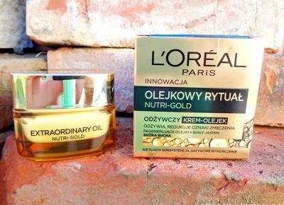 Loreal Nutri Gold odżywczy krem - opinia - Świat w kolorze blond