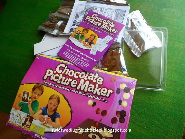 świat według moich dzieci: Domowa fabryka czekolady