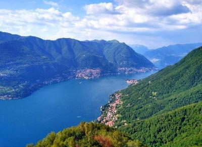 Como - najpiękniejszy punkt widokowy - Świat Według Blondynki