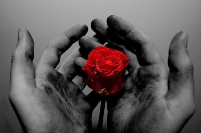 Ogromna miłość, a w sercu samotność