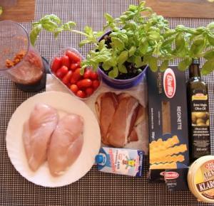 Kurczak w sosie z czerwonego pesto - Sylwia