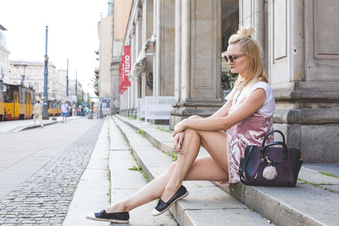 Velvet dress - Sylwia Szewczyk