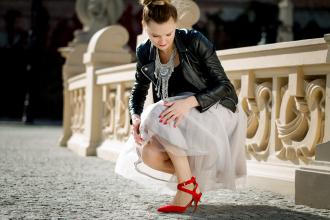 Tulle skirt - Sylwia Szewczyk