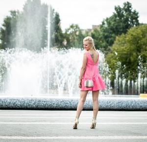 Pink dress-my wedding look! - Sylwia Szewczyk