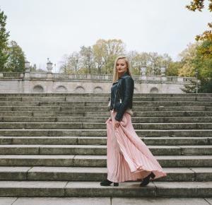 Pleated skirt - Sylwia Szewczyk