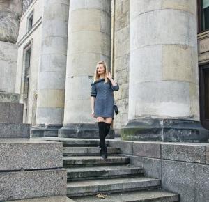 Sweater oversize - Sylwia Szewczyk