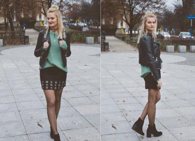 Fishnet tights - Sylwia Szewczyk