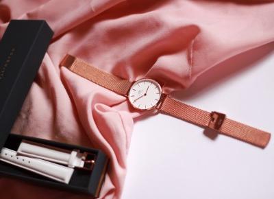 """S Y L W I A  na Instagramie: """"Jeśli można zakochać się w jakimś przedmiocie, to chyba mi się to przytrafiło z zegarkiem od @danielwellington Jest klasyczny i niezwykle…"""""""
