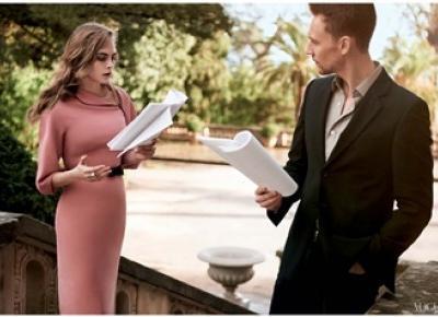 Cara Delevingne i Tom Hiddleston w sesji dla Vogue – Pełna Coolturka