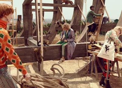 Arka Noego i Biblijny Potop – czyli nowa kampania Gucci (dużo zdjęć!) – Pełna Coolturka