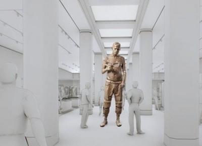 Powstanie rzeźba Zombie Boy'a