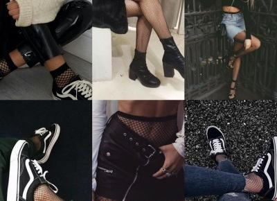 PAULINA KOBZA: INSPO: Fishnet tights