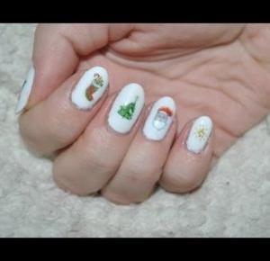 Świąteczne naklejki/Christmas-nails
