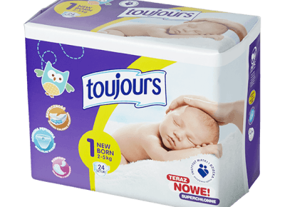 Pieluszki z Lidla Toujours – jak się spisują? Czy warto ich używać?
