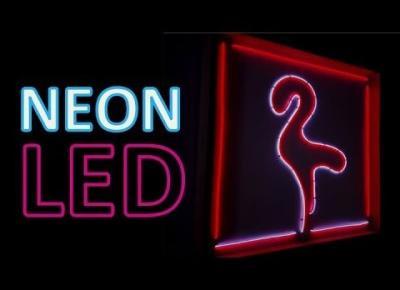 Jak zrobić NEON LED? Tutorial DIY