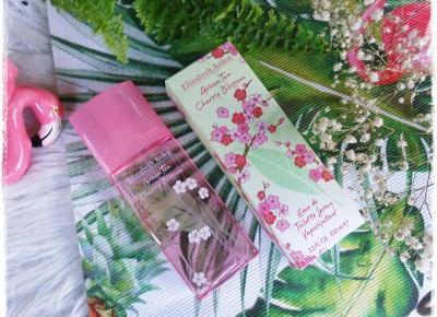 Elizabeth Arden, Green Tea Cherry Blossom, Zapach Idealny na Wiosnę i Lato  | Kolorowy Świat Terii