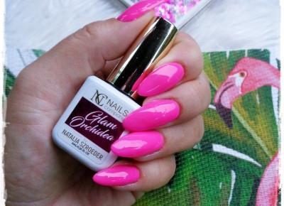 Nails Company, Glam Orchidea, Paczka Niespodzianka , Moje Pierwsze Wrażenia  | Kolorowy Świat Terii