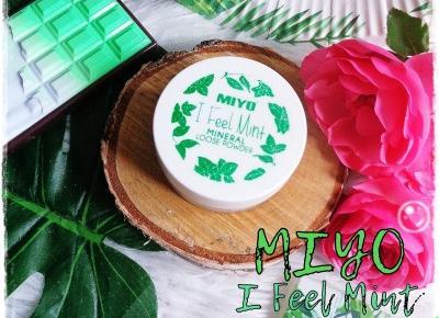 MIYO, I Feel Mint Loose Powder, Puder Mineralny  | Kolorowy Świat Terii
